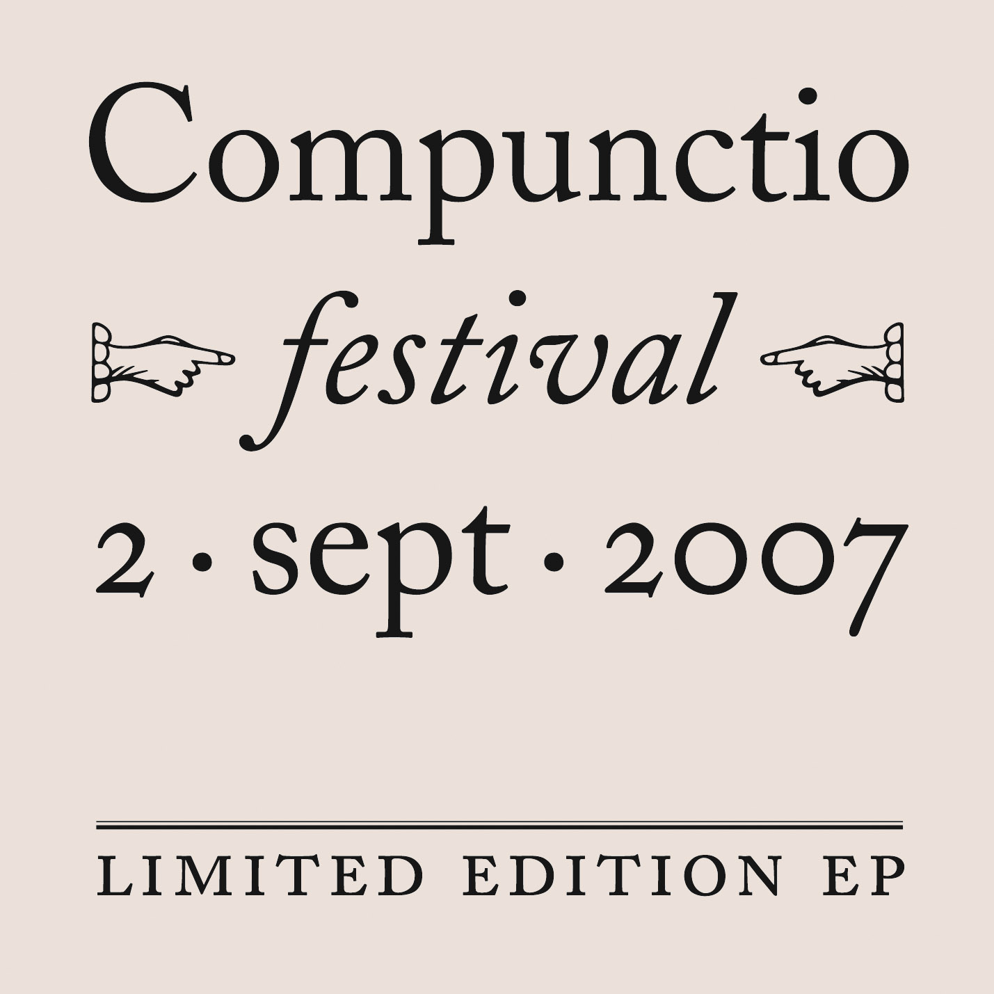Compunctio Festival 1 Cover